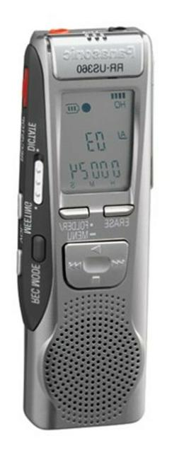 Panasonic RR-US360 Handheld Digital MP3 Voice Player Recorde