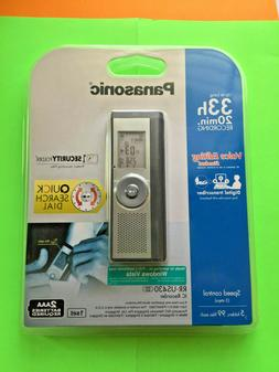 Panasonic RR-US430 Digital Recorder and Voice Editor - BRAND