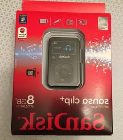 Sandisk Sansa Clip+ 8GB MP3 Player Colour BLACK.