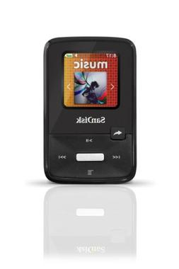 "SanDisk Sansa Clip Zip 1.1"" Black 4GB MP3 Player SDMX22-004G"