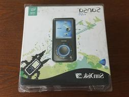 Sandisk Sansa e260 4 GB MP3 Player with MicroSD Expansion Sl