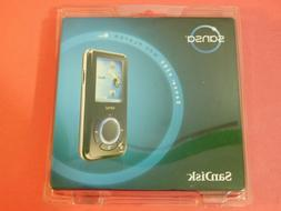 SanDisk Sansa e280 Black  MP3 Player Digital Media Player Vo