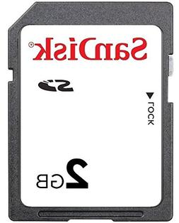 2GB SanDisk SD Memory Card – SanDisk 2 GB Secure Digital M