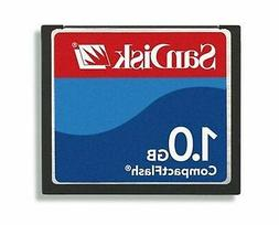 SanDisk SDCFB-1024-A10 1GB CF Type 1 Card