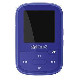 SanDisk SDMX28-016G-G46B Clip Sport Plus MP3 Player, 16GB