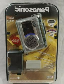 SEALED Panasonic RQ-L50 VAS Voice Activated Mini Cassette Re