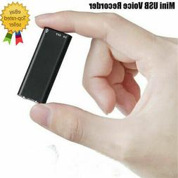 Small Covert Voice Recording Device Mini Hidden Spy Audio Su