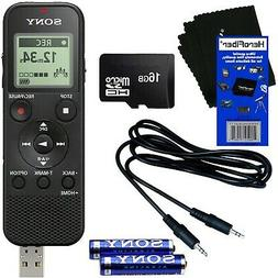 Sony ICD-PX370 Mono Digital Voice Recorder with Built-in 4GB