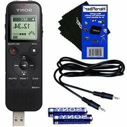 Sony ICD-PX470 Stereo Digital Voice Recorder w/Built-in USB