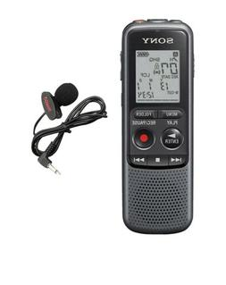 Sony Digital Voice Recorder ICD-PX Series, with Built-in Mic