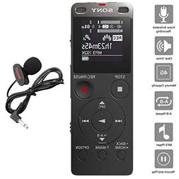 Sony Digital Voice Recorder UX Series, 4 GB Built-in Storage