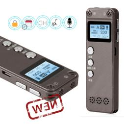 Spy Digital Activated Voice Recorder Mini Portable Rechargea
