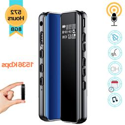 Spy Digital Voice Activated Recorder Mini Audio Sound MP3 Pl