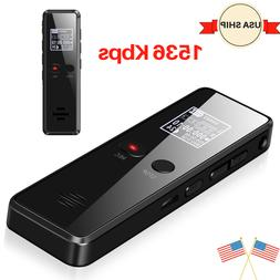 Spy MP3 Player Digital Voice Activated Recorder 8GB Mini Mic