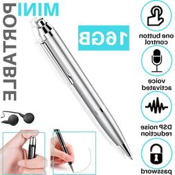 Spy Portable Digital Voice Activated Recorder Pen Mini Audio