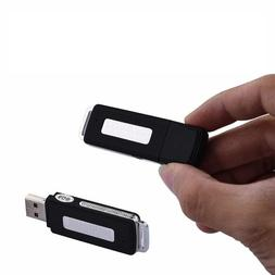 8GB Spy USB Sound RECORDER Mini Voice Recording Device Hidde
