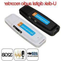 U-Disk Digital Audio Voice Recorder Pen USB Flash Drive up t