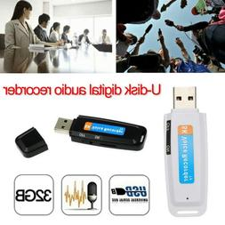 U Disk Digital Audio Voice Recorder Pen USB 2.0 Flash Drive