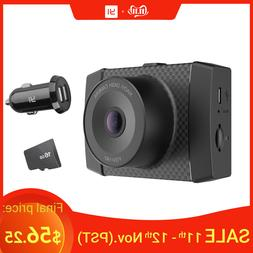 ultra dash camera with 16g card black