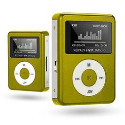 Sunfei USB Mini MP3 Player LCD Screen Support 32GB Micro SD