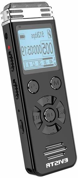 EVISTR V508 16gb Digital Voice Recorder Portable Recording D