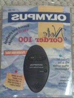 Vintage Olympus Note Corder 100 - Voice Recorder 141-005