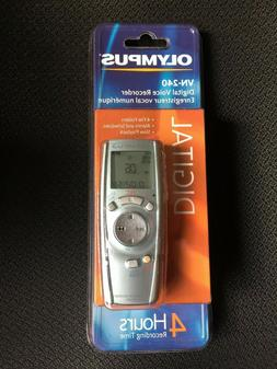 Olympus VN-240 Digital Voice Recorder MPN 141722, factory se