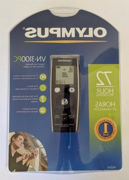 Olympus VN-3100PC 72 Hours Record Time  Digital Voice Record