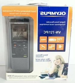 Olympus VN-721PC 2GB Audio Digital Voice Recorder Memos/WMA
