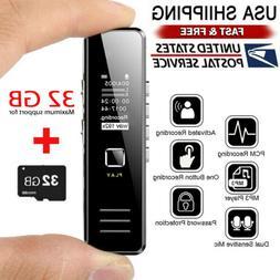 Voice Activate Mini Spy Digital Sound Audio Recorder Dictaph