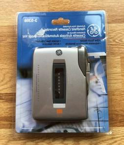 GE Voice Activated Handheld Cassette Recorder 3-5366 Brand N