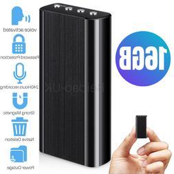 Voice Activated Mini Spy Digital 16GB Audio Sound Recorder D