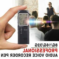 Voice Activated Mini Spy Digital Sound Audio Recorder Dictap