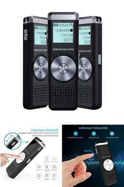 Voice Activated Recorder Device Listening Spy Audio Digital