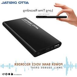 Voice Activated Recorder and Power Bank | Big Capacity 5000