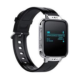 Zipperl Digital Voice Activated Recorder Watch Portable Rech