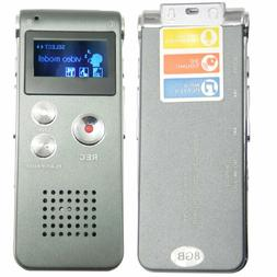 Mini Digital Portable Voice Recorder Dictaphone Telephone 8G