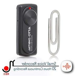 Small Voice Recorder with 20 Hours Battery Life | Ideal for