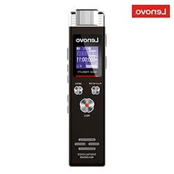 Lenovo Voice Recorder, 8GB Digital Audio Voice Activated Rec