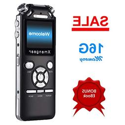 Voice Recorder by Xmangear, Digital Voice Recorder Dictaphon
