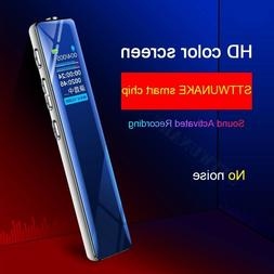 STTWUNAKE Voice recorder activated Dictaphone audio sound di