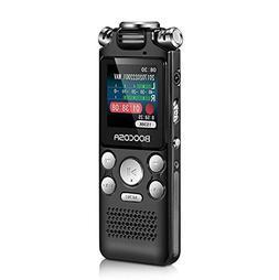 Voice Recorder - 8GB Audio Sound Recorder – Portable Recha