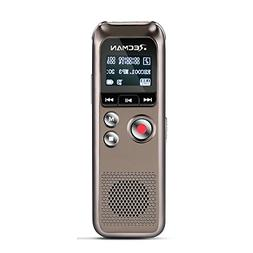TNP Digital Voice Recorder w/ Playback, Rechargeable Voice A