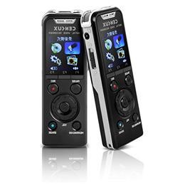 CENLUX Professional Digital Voice Recorder Microphone HD Rec