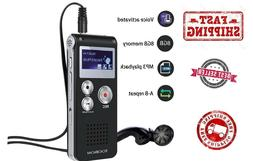 Voice Recorder TOOBOM R01 Digital Voice Activated Recorder -
