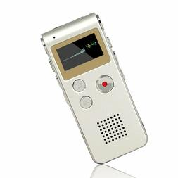ACEE DEAL 8GB Digital Voice Recorder with Mini USB Port,
