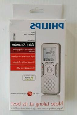 Philips Voice Recorder Tracer LFH0662 Digital USB Dragon Spe