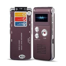 ACEE DEAL 8GB Digital Voice Recorder with Mini USB Port, Voi