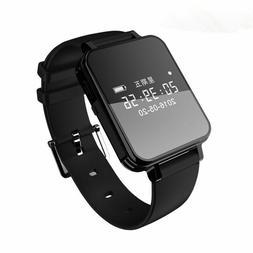 Voice Recorders Watch Wristband 300mAh Li Battery Wav MP3 4G