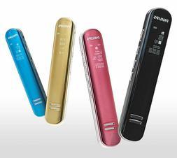 Philips Voice tracer VTR-5200 8GB voice audio recorder 4colo